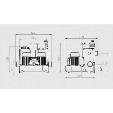 канализационный насос для профессиональной кухни