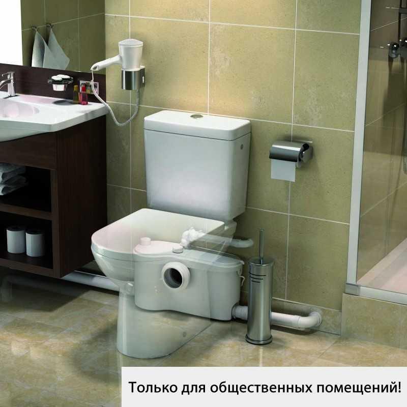 мощная канализационная установка - насос измельчитель SANIBEST Pro