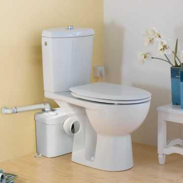 SANIBROYEUR - как сделать туалет в комнате