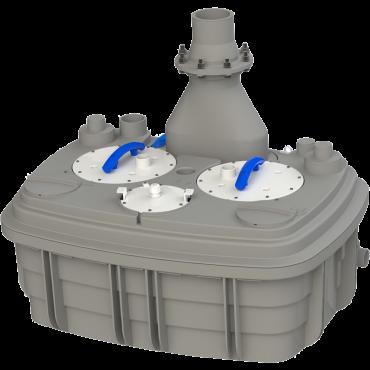 канализационная насосная станция принцип работы