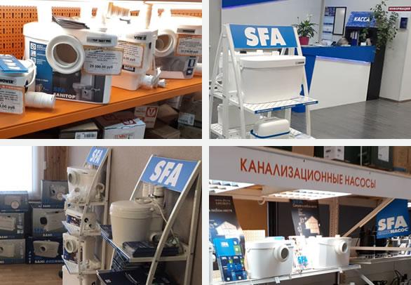 Ритейлеры SFA - более 600 точек продаж в России