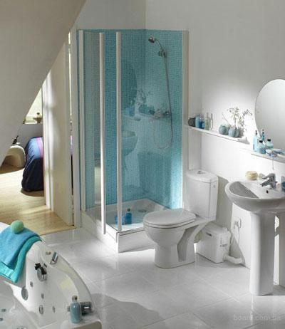 канализационный насос для ванной комнаты