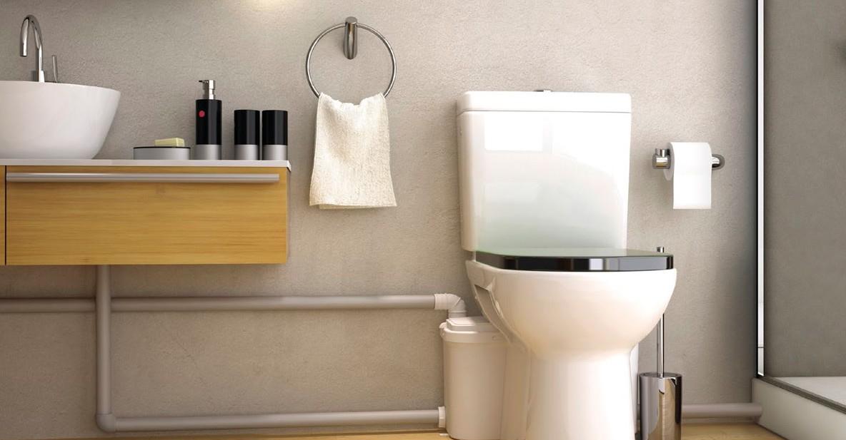 канализация перенос в комнату